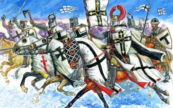 Средневековый натиск